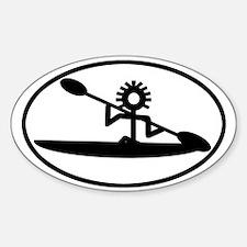 Sea Kayak Glyph Decal