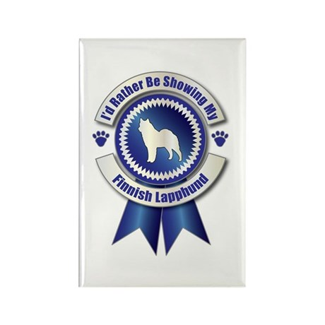 Showing Lapphund Rectangle Magnet (100 pack)