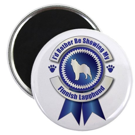 "Showing Lapphund 2.25"" Magnet (100 pack)"