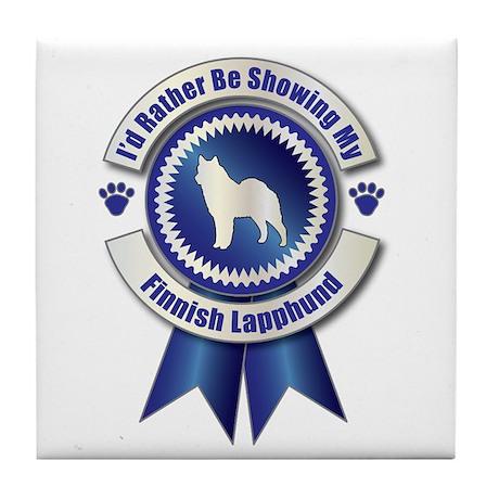 Showing Lapphund Tile Coaster