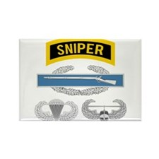 Sniper CIB Airborne Air Assault Rectangle Magnet