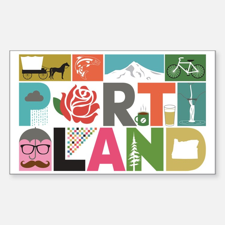 Unique Portland - Block by Blo Decal