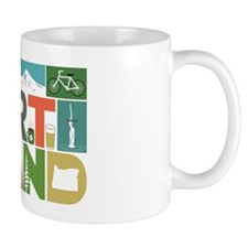 Unique Portland - Block by Block Mug