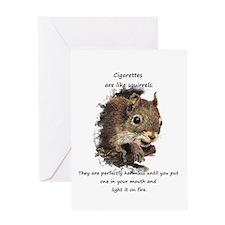 Quit Smoking Motivational Fun Greeting Cards