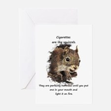 Quit Smoking Motivational Fun Greeting Cards
