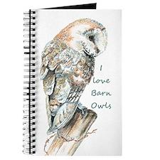 I love Barn Owls Fun Quote Journal