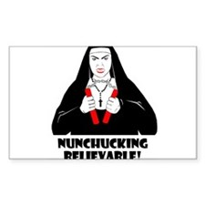 NUNCHUCKING BELIEVABLE Decal