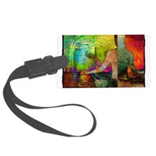 Meditation with Mother Earth Luggage Tag