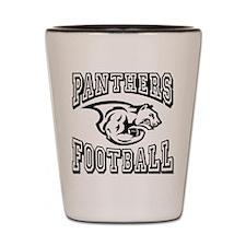 Panthers Football Shot Glass