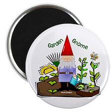 "Garden Gnome 2.25"" Magnet (10 pack)"
