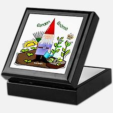 Garden Gnome Keepsake Box