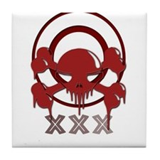skullcircle Tile Coaster