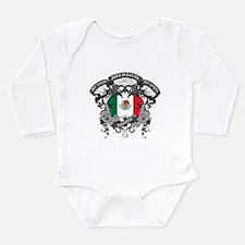 Mexico Soccer Long Sleeve Infant Bodysuit