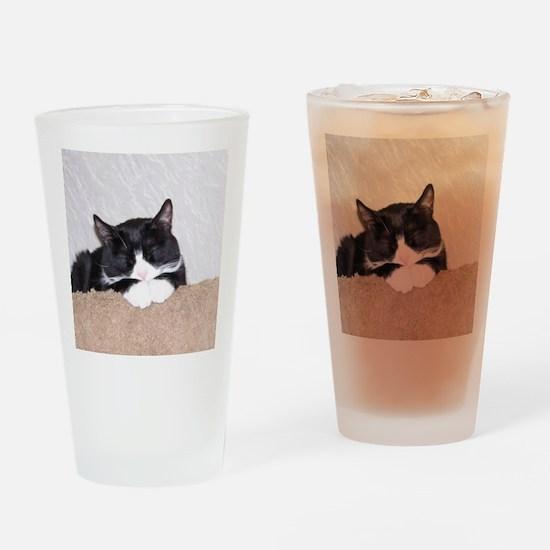Sweet Kitty Drinking Glass