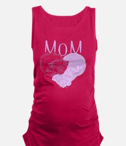 Lavender Heart Cats for MOM  Maternity Tank Top
