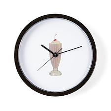 Milkshakes Wall Clock