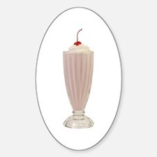 Milkshakes Oval Decal