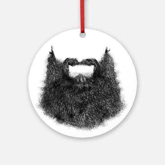 Big Beard Ornament (Round)