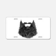 Big Beard Aluminum License Plate