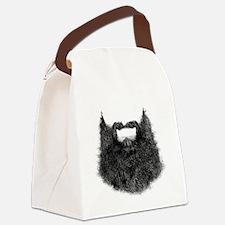 Big Beard Canvas Lunch Bag