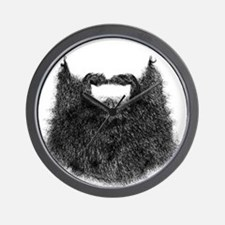 Big Beard Wall Clock