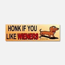 Cute Dachshund t Car Magnet 10 x 3