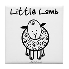 Cute Little lamb Tile Coaster