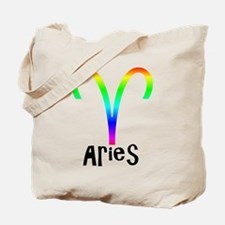 Aries Zodiac sign Tote Bag