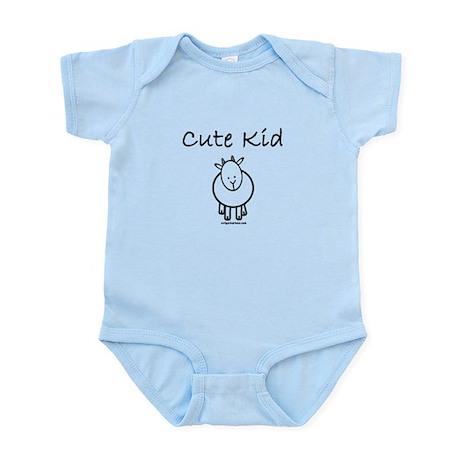Cute kid goat Infant Bodysuit