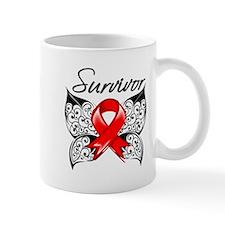 Survivor Stroke Butterfly Mug