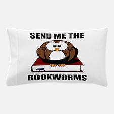 Bookworm Owl Pillow Case