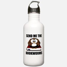 Bookworm Owl Water Bottle