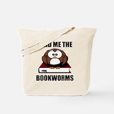 Bookworm Owl Tote Bag