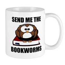 Bookworm Owl Mugs