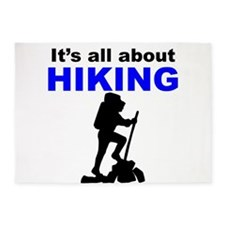 Its All About Hiking 5'x7'Area Rug
