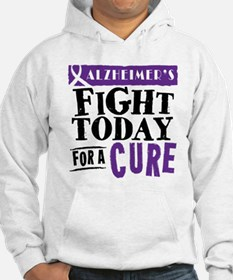 Alzheimers Fight Today Hoodie
