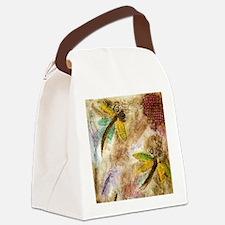 Dragonfly Lollipop Canvas Lunch Bag