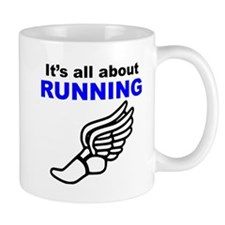 Its All About Running Mugs