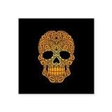 Day of the dead skull Square