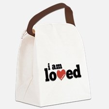 I am Loved Canvas Lunch Bag