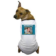 Missing Brandon Lawson Dog T-Shirt