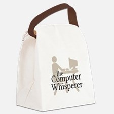 The Computer Whisperer Canvas Lunch Bag