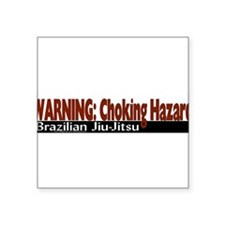 WarningChokingHazard Sticker