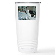 Giant snowman Travel Mug