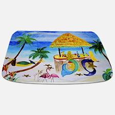Mermaid Beach Tiki Bar Bathmat