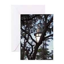 Amelia Island Lighthouse Greeting Cards