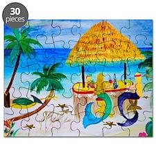Mermaid Beach Bar Puzzle