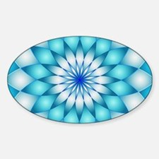 Mandala 1 Sticker (Oval)