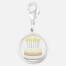 Birthday Cake Charms