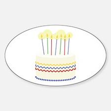 Birthday Cake Decal